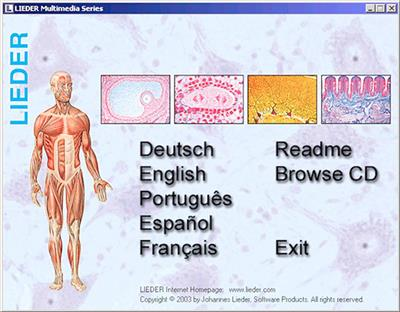 Frosch Histologie (Rana) Basis CD-ROM