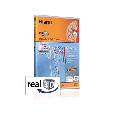 Niere I; real3D-Software, DVD
